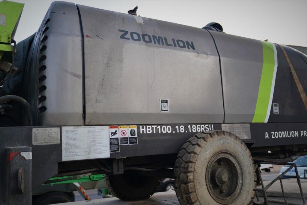 Zoomlion HBT 100 SCP